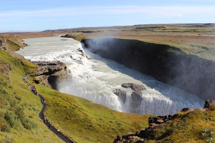 Gullfoss waterfall, Iceland | SuddenlyCeliac.org